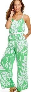 Lilly Pulitzer For Target Satin Jumpsuit